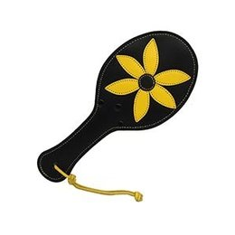 Kookie Flower Mini Paddle, Black/Yellow