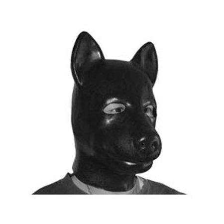 Kookie Latex Dog Hood, Black