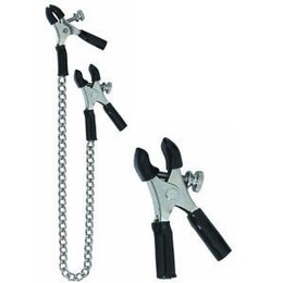 Spartacus Nipple Clamps SPF-31 Micro Pliers Adjustable with Chain