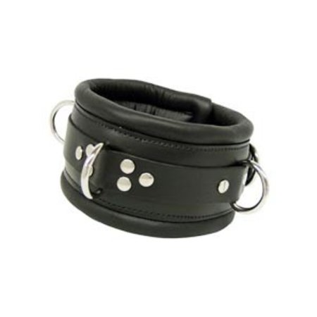 Kookie Padded Collar, Black