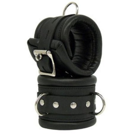 Kookie Padded Cuffs, Black