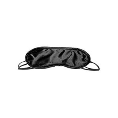 Sportsheets S and M Satin Blindfold, Black