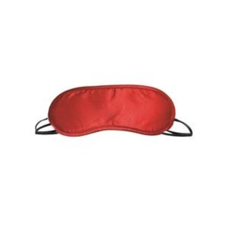 Sportsheets S and M Satin Blindfold, Red