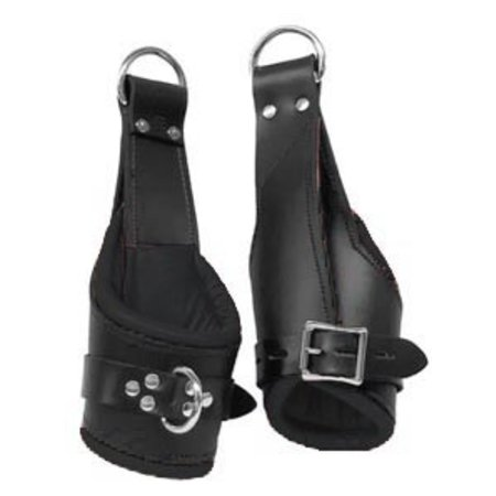 Kookie Suspension Cuffs, Deluxe Padded, Black