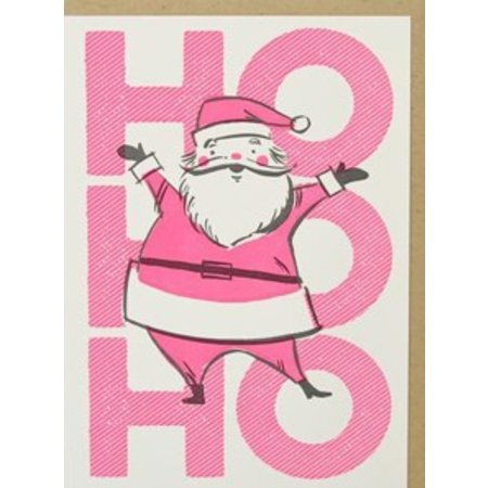 HelloLucky Ho Ho Ho Greeting Card