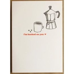 Egg Press I'm Hooked On You Greeting Card