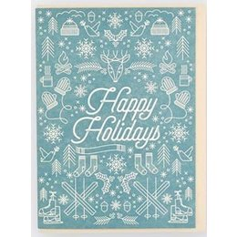 HelloLucky Iconic Holiday Greeting Card
