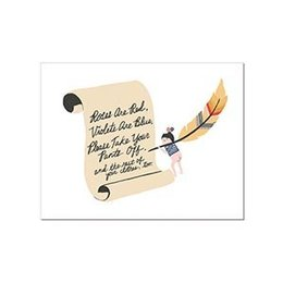 Laura Berger Poem Greeting Card