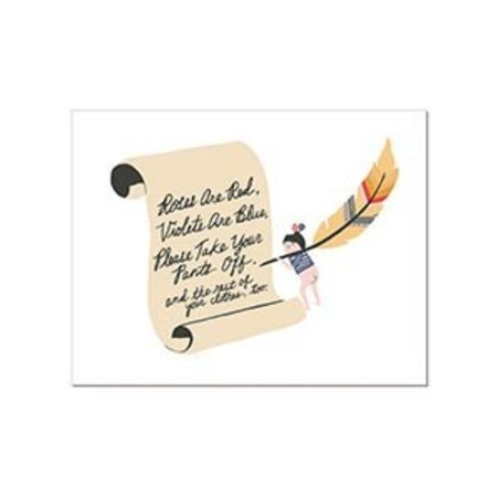 Laura Berger Poem Greeting Card