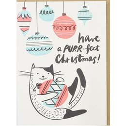 HelloLucky Purrfect Christmas Greeting Card