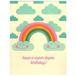 HelloLucky Super Duper Birthday Greeting Card
