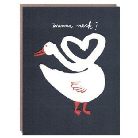Egg Press Wanna Neck? Greeting Card