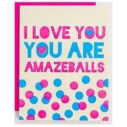 HelloLucky You Are Amazeballs Greeting Card