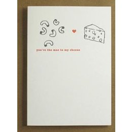 Egg Press You're the Mac to My Cheese Greeting Card