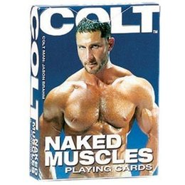 California Exotics Colt Naked Muscles Playing Cards