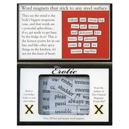 Magnetic Poetry Magnetic Poetry Kit Erotic X