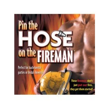 Little Genie Pin the Hose on the Fireman
