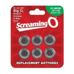 Screaming O LR1130 Batteries, 6-pack