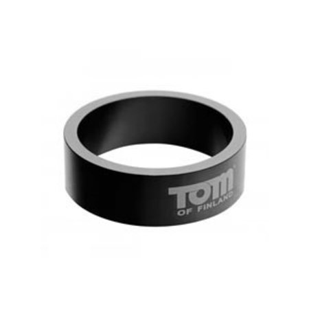 XR Brands Tom of Finland Aluminum Cock Ring, 50mm