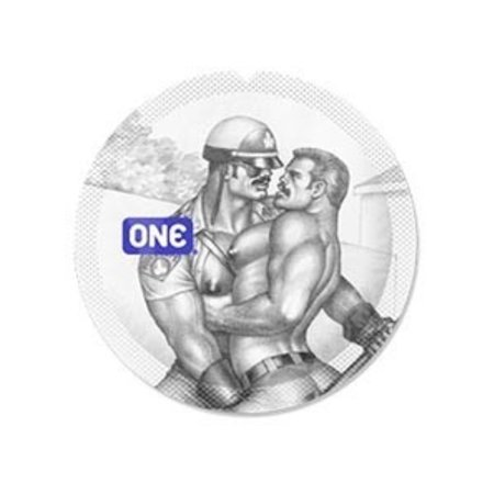 ONE ONE Super Sensitive Condom, Tom of Finland Edition