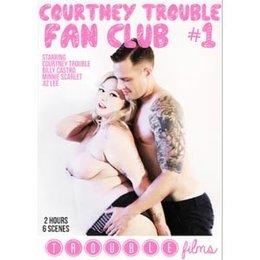 Trouble Films Courtney Trouble Fan Club #1 DVD