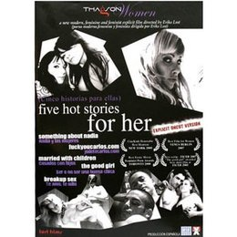 Lust Films Five Hot Stories for Her DVD