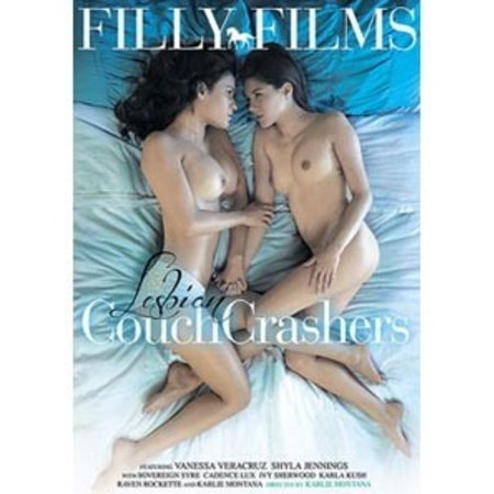 Filly Films Lesbian Couch Crashers DVD