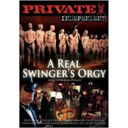 Pure Play Media Real Swingers Orgy DVD