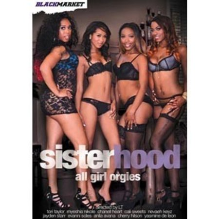 Black Market Sisterhood All Girl Orgies DVD