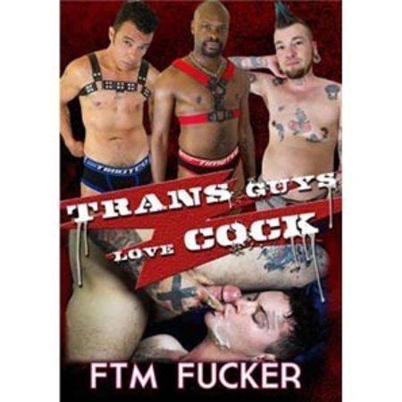 FTM Fucker Trans Guys Love Cock DVD