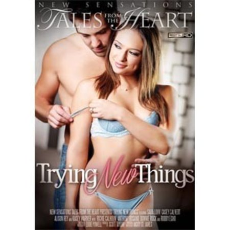 New Sensations Trying New Things DVD