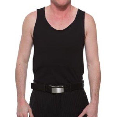 Underworks Underworks Cotton Concealer Chest Binder 988- Luis, Black