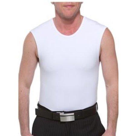 Underworks Underworks Cotton Concealer Muscle Shirt Binder 974- John Henry, White