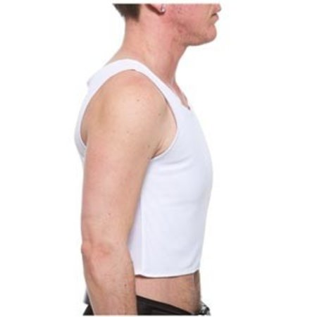 Underworks Underworks Tri-top Chest Binder 983- Floyd, White