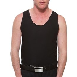 Underworks Underworks Double Front Compression Chest Binder 997- Anton, Black