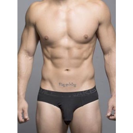 Andrew Christian Andrew Christian 90013 Almost Naked Tagless Brief, Black