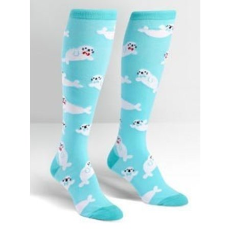 Sock It To Me Baby Seals Knee Socks