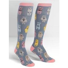 Sock It To Me Bears Knee Socks