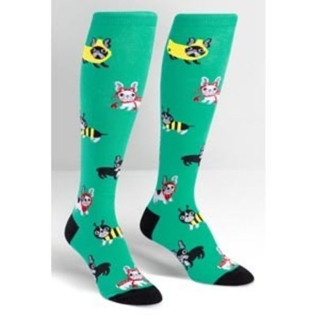 Sock It To Me Costume Party Knee Socks