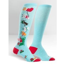 Sock It To Me Jingle Cats Socks