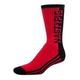 Nasty Pig Nasty Pig 3D Socks, Red