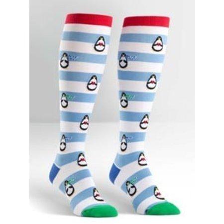 Sock It To Me Penguin Stripe Socks