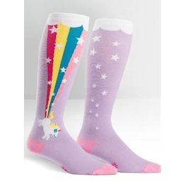 Sock It To Me Stretch It Rainbow Blast Socks