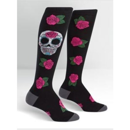 Sock It To Me Sugar Skull Socks