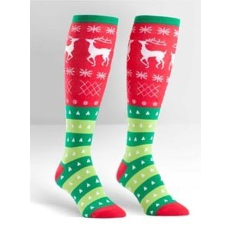 Sock It To Me Tacky Holiday Sweater Socks