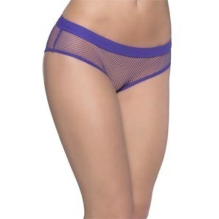 Oh La La Cheri Backless Fishnet Hipster Panty 6294, Purple