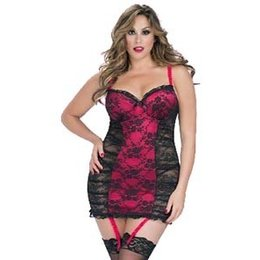 Oh La La Cheri Caroline Babydoll 8180, Red