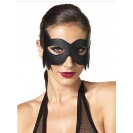 Leg Avenue Faux Leather Fantasy Cat Eye Mask KI2001