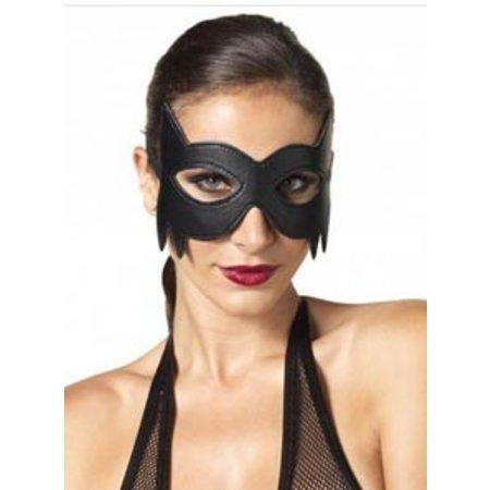 Leg Avenue Faux Leather Fantasy Cat Eye Mask KI2001