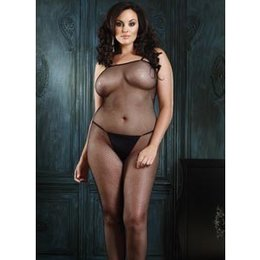 Leg Avenue Seamless Spaghetti Strap Fishnet Body Stocking 8670
